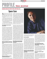 space news profile case newspaper interview spacex... (Photo: jurvetson on Flickr)