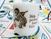 Glasbake Smokey The Bear Mug 2 (masato03) Tags: glasbake
