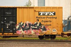 KERSE (The Braindead) Tags: art minnesota train bench photography graffiti painted tracks minneapolis rail explore beyond the