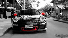 Porsche 911 GT3 Black and Red (Gabriel_magrelo) Tags: red black gabriel canon 911 porsche belvedere horizonte bh belo gt3 pedro bhexotics