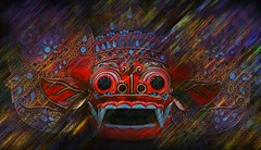 Balinese Barong (Joe.Rock) Tags: wide joe fav20 fav30 fav10 fav40 sampouw