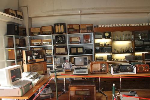 Computer und Radio-Ecke