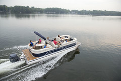 Sunchaser 8524 LR DH Pontoon Boat (thebestboatbrands) Tags: cruise pontoon 2014 2016 2015 sunchaser 8524loungerdh