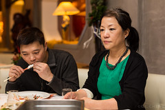 New Year's Eve 2013-2014 (Gin-Lung Cheng) Tags: family people woman girl female asian restaurant women place chinese joan places newyear event oudennieuw