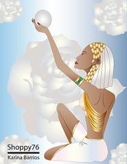 Egyptian woman/Mujer egipcia. (Shoppy76) Tags: blue woman flower beautiful rose female illustration gold mujer sitting princess magic flor silk rosa egyptian bracelet gradient pearl zodiac brunette delicate princesa perla hermosa emerald seda vector virgo morena oro magia ilustración esmeralda azules zodíaco brazalete sentada femenina degradado egipcia delicada