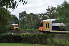 Moving cross (highplains68) Tags: railroad au sydney rail railway australia nsw newsouthwales waratah aus beecroft northernline x45 xclass 8050 8178 dl49 81class dlclass 80class mainnorth dl45