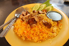 Biryani for lunch!