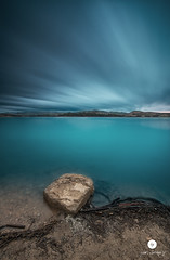 What if the Storm Ends? (juandiegojr) Tags: longexposure sunset españa lake clouds landscape spain cloudy bluehour malaga snowpatrol ardales largaexposicion nikkor1424mm juandiegojr juandiegojrcom whatifthestormends d800e