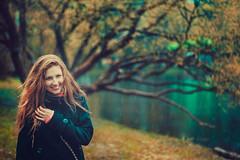 (Hellen Rite) Tags: portrait colour girl rain redhead