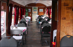 Snacks on Line! (Canis Major) Tags: train cafe 2000 conversion tables 500 5000 1000 bittonstation placetoeat