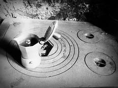 It's coffee o'clock (Cristina Birri) Tags: summer blackandwhite bw coffee blackwhite estate bn caff bianconero biancoenero moka friuli baita ferro udine fornidisopra spoler