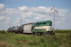 IARR 3004 Cleves (eslade4) Tags: cleves gp30 excnw iarr iowariverrailroad exiac exarzc