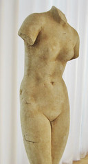 Torso of Aphrodite, Hellenistic Greek, about 60 BC, white Parian marble. Photo Credit: Clio Ancient Art and Antiquities (Clio Ancient Art) Tags: art roman egyptian artifacts antiquities ancientart cypriot northcarolinamuseumofart