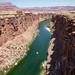 E mais uma vez o rio Colorado, agora verde