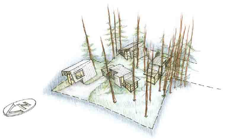 Montane Cottages rendering