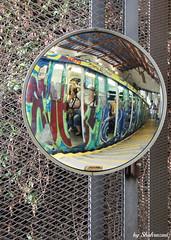 Reflection EXPLORED! (Shahrazad26) Tags: weerspiegeling spiegeling reflection reflectie spiegel mirror miroir tibidabo barcelona catalunya spanje spain spanien espagna espagne