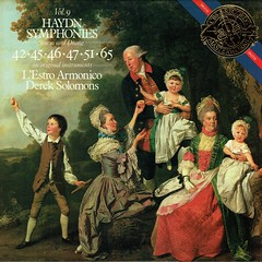 Haydn Symphonies • 42 • 45 • 46 • 51 • 65 - Solomons CBS Masterworks 1 (sacqueboutier) Tags: vintage vinyl vinylcollection vinyllover vinylnation vinylcollector lp lplover lps lpcollection lpcollector lpcover lpcoverart records record classical classicalmusic
