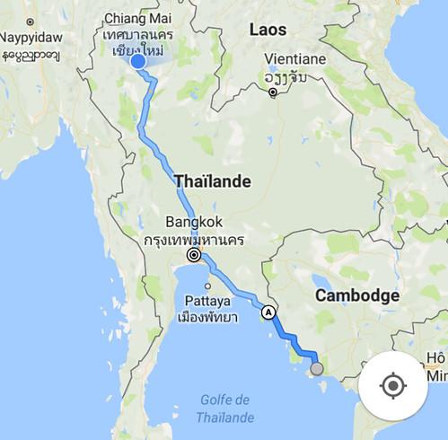 03-03-2017 - On est arrivé à Chiang Mai ! Après 1300 km 30h de bus! La joie!