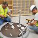 Furniture installation at Kingsolver Elementary