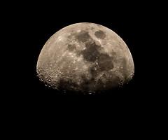 Moon (deltic17) Tags: moon waxing lunar night dark rock planet zoom lens telephoto canon canon5dmk3 distance lunatic sky