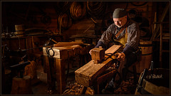 Making Barrel Staves (Maclobster) Tags:
