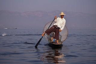 Lac Inle - pêcheur Intha 31