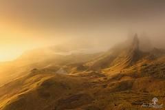 Shrouded In Mist (Dave Brightwell) Tags: scotland storr oldmanofstorr mist light isleofskye leefilters formatthitech manfrotto canon 6d photography lowepro ethereal landscape sunrise sunlight