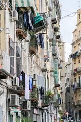 Napoli (Marco La Rosa) Tags: italia italy napoli neaples napoletano storia cultura lenzuole panni strada road quartierispagnoli pannistesi caratteristico balconi