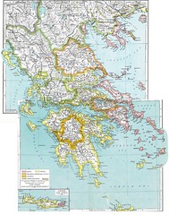 Reference Map of Ancient Greece (edenpictures) Tags: ancientgreece hellas mythological mythology myths legends lengendary classical athens sparta thebes crete delphi arcadia map places locations setting placenames towns regions