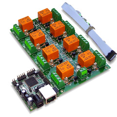 Ethernet relay board - www.online-devices.com (onlinedevice) Tags: usb relay board web controlled rs232 control software ethernet dpdt ip internet solid state