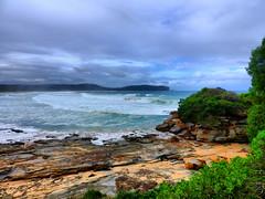 sml-fhdr-DSCN0251 (elphweb) Tags: roughseas roughsea ocean nsw australia sea water waves breakers storm coast coastal falsehdr fhdr bigwaves bigsurf surf foam mist