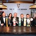 Joe Dolan, IHF President with Niall Caffrey, Jack Quirke, Ann Marie Phillips, Aidan Maher, Shane Barry and Michael Lyons, Diageo