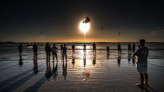 LAST HEAT (CUMBUGO) Tags: surf kite site 1424mm f28 cape town south africa sport cool mood sun sunset sunlight reflection sky nikkor nikon d800 d800e color atmosphere