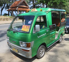 Daihatsu Hijet taxi (D70) Tags: the daihatsu hijet is microvan pickup truck produced by japanese automaker despite similarities between name toyotas naming scheme for its trucks vans