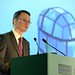Minister Patrick O'Donovan address the IHF Annual Conference