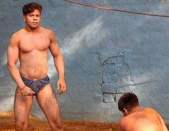 "Kushti Wrestling (grab a shot) Tags: ""eos 7d mark ii"" india newdelhi gurujasramjisakhara akhara kushti wrestling wrestle wrestler 2017 sport gym outdoor sand male men"