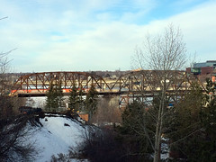 New Traffic Bridge 1 (daryl_mitchell) Tags: saskatoon saskatchewan canada winter 2017 traffice bridge new construction