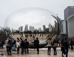 """The Bean"" (fritman99) Tags: cloudgate bean chicago sculpture art midwest"