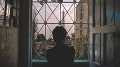 269/365 In Paris - off days v (Katrina Y) Tags: selfportrait window silhouette 2017365project art mood creative surreal surrealphotography fineartphotography paris