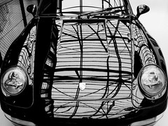 lines, real abstract (Werner Schnell Images (2.stream)) Tags: ws lines refkections porsche classic remise düsseldorf