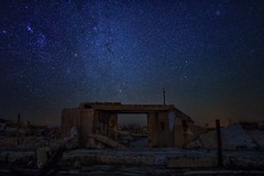 It was a home (karinavera) Tags: travel sonya7r2 epecuen ruins longexposure places abandoned night buenosaires argentina star