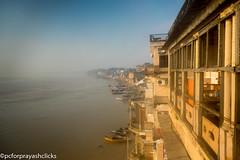 The Foggy Ghat (pcforprayashclicks) Tags: city varanasi benares india nikond3300 gods foggy incredibleindia travel natgeotravel flickr instagram