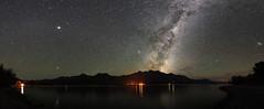 Glenorchy Core (danhan27) Tags: milkyway milky way stars night sky nightsky astro astrophotography astroscape lake wakatipu lakewakatipu reflection lights nz newzealand kinloch glenorchy