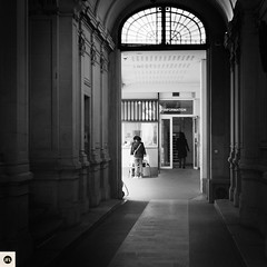 08p290317 (photo & life) Tags: paris ville city street streetphotography rue leica leicam9p summicronm1250 summicron 50mm jfl photography photolife™ blackandwhite noiretblanc squareformat squarephotography ambassadedethaïlande humanistphotography