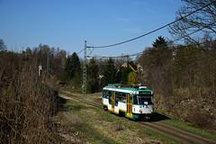 Tatra T3R.PLF #22 DPML Liberec (3x105Na) Tags: tatra t3rplf 22 dpml liberec czechy českárepublika tschechien tramwaj tram tramvaj strassenbahn strasenbahn