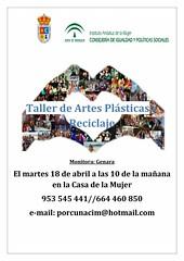 taller manualidades abril 2017 (M. Jalón) Tags: cartel reiki taller manualidades centro mujer porcuna ayuntamiento