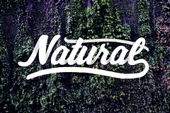 Natural (Dacphotography304) Tags: text natural caligrafía calligraphic green nature design letters