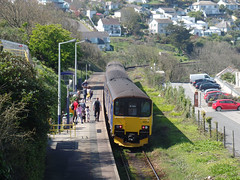 150263 & 150104 Carbis Bay (4) (Marky7890) Tags: gwr 150263 150104 class150 sprinter 2a25 carbisbay railway cornwall stivesbayline train