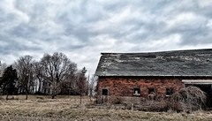 the withering heights... (BillsExplorations) Tags: abandoned decay ruraldecay forgotten abandonediowa old farm withering heights iowa field sky