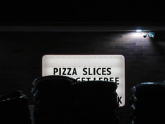 pizza slices (timp37) Tags: sign pizza slices dude speedway gas station illinois pulaski 2017 april